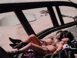 Tanning on Tatooine